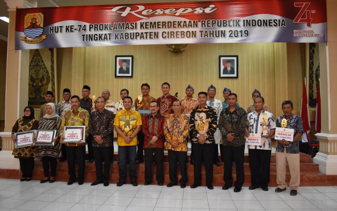 Juara 2 Pengelolaan Perpustakaan Tingkat Kabupaten Cirebon